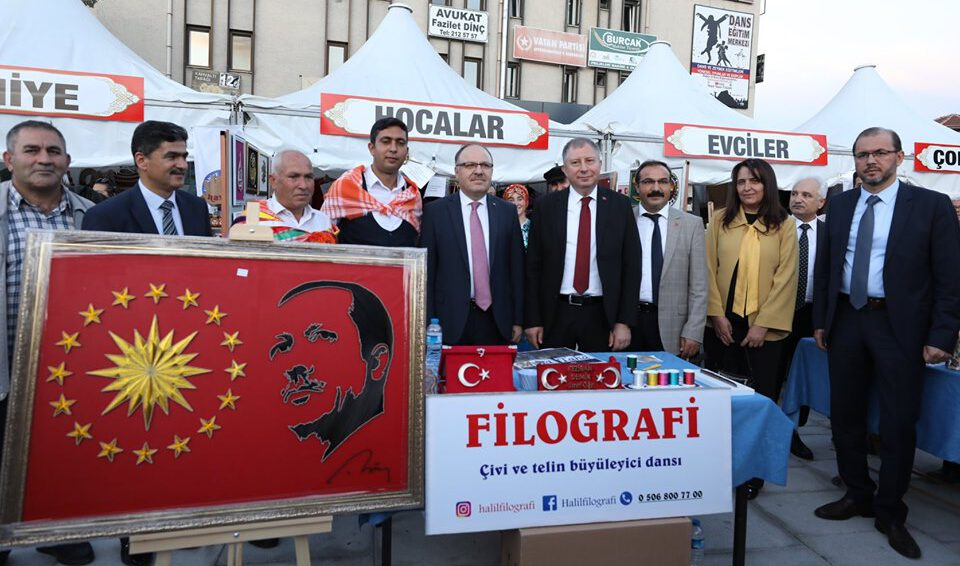 ALTINELLER EL SANATLARI FESTİVALİ COŞKUSU